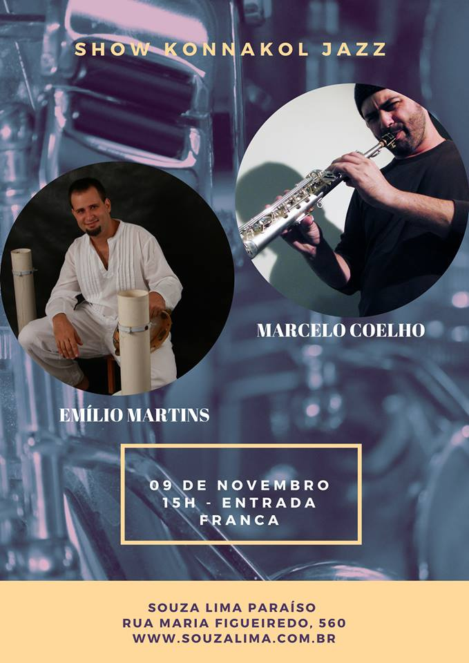 Konakkol Jazz com MC & Emílio Martins @ SL Music Hall – 09.11.17
